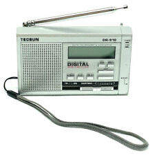 RARE ENGLISH VERSION - TECSUN DR-910 DIGITAL AM FM SHORTWAVE COMPACT RADIO