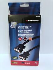 New Monster 140050-00 High Resolution VGA 6 Foot Cable S-VGA S27 6ft
