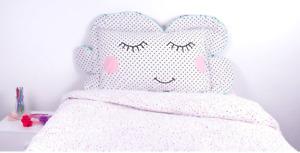 Kids Cloud Novelty Pillow Case - Fit's A Standard Size Pillow