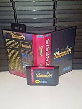 Sorcerian - Side scrolling action RPG Game for Sega Genesis! Cart & Box!