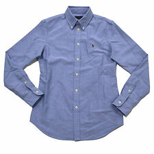 Ralph Lauren Shirt Women Button Down Oxford New Custom Fit Long Sleeve