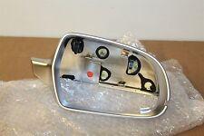 Right aluminium mirror cap Audi RS3 RS4 RS5 8F0857528E 1L1 New Genuine Audi part
