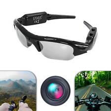 EAXUS® Videobrille Action Cam Sonnenbrille Foto Video Ton USB Etui Kamerabrille