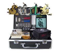 new Tattoo Kit 4 machine tattoo equipment power complete set