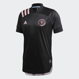 $130 Inter Miami FC Away Authentic Jersey MEDIUM Adidas Black EH8635 - NEW