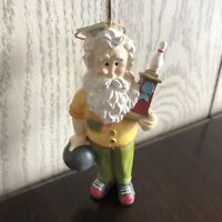 Used Midwest of Cannon Falls Santa Clause Bowling Christmas Tree Ornament Decor!