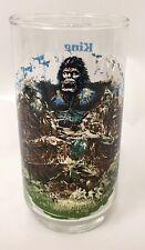 Coca-Cola 1976 Movie King Kong Skull Island Saving Blonde Sacrifice Glass  Vtg