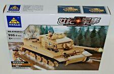 LEGO KAZI CENTURY MILITARY TIGER I WW2 German Tank - UNOPENED KIT (MEGA BLOKS)
