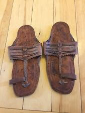 Indian Shoes Size 5 Brown Says Funky People Made From India