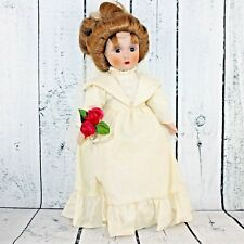 Danbury Mint Brides America Bride Gibson Girl Catherine Porcelain Doll Collector