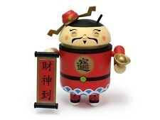 Google Android Cai Shen Dao The Chinese God of Wealth Collectible Toy Figure