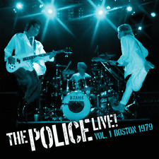POLICE Live Vol.1 2xLP Blue Limited Edition NUOVO .cp