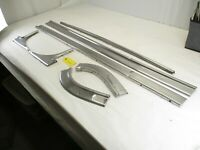 1959 1960 Chevy El Camino Bed Top Stainless Trim OEM (missing tailgate piece)