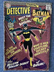 Detective Comics #359 Batman and Million Dollar Debut of Batgirl (Ungraded)