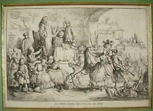 1778 Shearing Of Prostitutes Prostitution Girl de Joie Courts Shave Prostitute