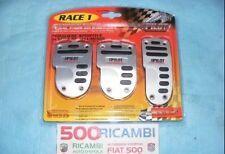 FIAT 500 F/L/R 126 PEDALIERA SPORTIVA IN ALLUMINIO COPRI PEDALI TUNING RACE