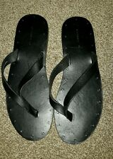 NEW Mens All Saints Phase Sandals - size 9/43 - RARE