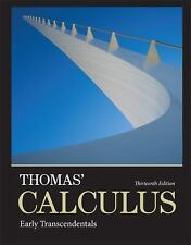 Thomas' Calculus: Early Transcendentals Hardcover (13th Edition)