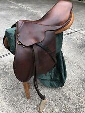 Collegiate Saddle 16.5�, Plus Stirrups, Girth And Cover