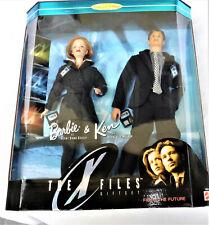 Sammlerpuppe Mattel BARBIE and KEN THE X FILES  19630 (1998), 1/6, OVP (mb)