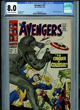 Avengers #37 CGC 8.0 VF Marvel Comics 1967 K30