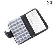 7 Day Weekly Pill Travel Medicine Box Case Dispenser Tablet Holder Organiser TG