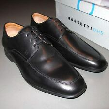 FRATELLI ROSSETTI ONE 2008 Laced Black Shoes DELHI NERO Sz 7½  Calfskin Unworn!