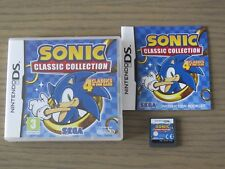 JEU NINTENDO DS 3DS SONIC CLASSIC COLLECTION COMPLET