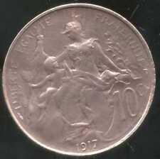 FRANCE   FRANCIA   10 centimes DUPUIS  1917  ( SUP +  )