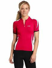 Gore Bike Wear Power 2.0 Womens Jersey, Berry Red/White, Large