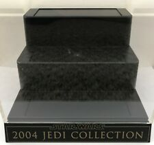 Star Wars Lightsaber .45 Master Replicas 2004 Jedi Collection Display Case Stand