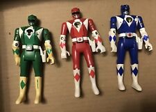 3 BANDI MIGHTY MORPHIN POWER RANGERS The Movie 5 Inch Action Figures 1995