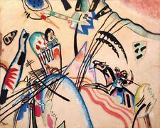 'Improvvisazione quadro - Stampa d''arte su tela telaio in legno'
