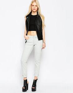 Eleven Paris Ladies Debra Bleached Slim Fit Jeans W 25 / L 30