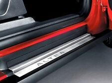 GENUINE SEAT ALTEA 5P STAINLESS STEEL FRONT + REAR DOOR SILL PLATES TRIM KIT