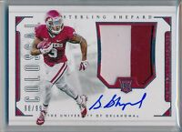 STERLING SHEPARD 2016 National Treasures Rookie 2 Color Patch AUTO /99 - Giants