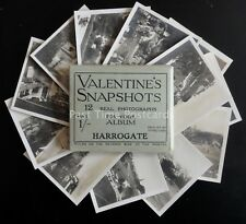 Yorkshire HARROGATE x 12 Real Photograph Souvenir Set c1920's by Valentine