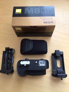 Genuine Nikon MB-D15 Battery Grip - Pristine Condition