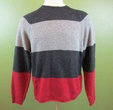 Wool Blend L Regular Size Crewneck Sweaters for Men