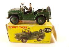 Dinky Toys Gb n° 674 Austin Champ Jeep en boîte