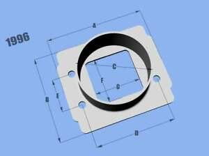 Vibrant For Toyota & Bosch MAF Per. Mass Air Flow Sensor Adapter Plate - 1996