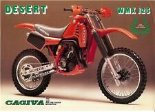 1984 Cagiva WMX 125 Desert original sales brochure