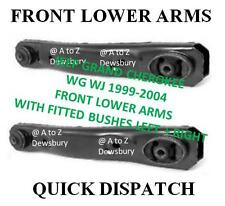 JEEP GRAND CHEROKEE WJ WG 1999-2004 FRONT LOWER CONTROL ARMS WITH BUSHES X 2 NEW