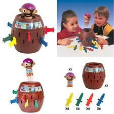 Kids Pop-Up Pirate Toy Children Colorful Fun Boys Girls Activity Game New Gift