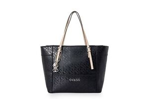 Delaney G Logo Affair Classic Tote Handbag Black Bag Fashion Crossbody