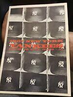 1967 New York Yankees score card official program, Helmets Edition