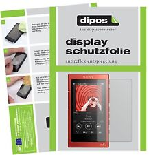 6x Sony Walkman NW-A35HN Schutzfolie matt Displayschutzfolie Folie dipos