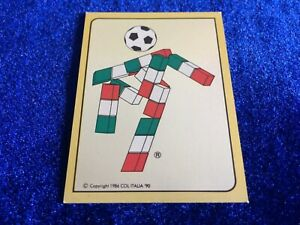 Rare Panini Italia 90 World Cup Football Sticker Official Mascot #4 Pick/choose