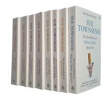 Adrian Mole Series 8 Book Collection Sue Townsend Secret Diary Growing Pains New
