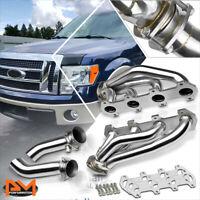 For 04-08 F-150/Mark LT 5.4 V8 Stainless Performance 4-1 Exhaust Header+Mid-Pipe